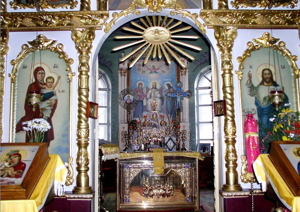 Должанский собор, внутреннее убранство, алтарь