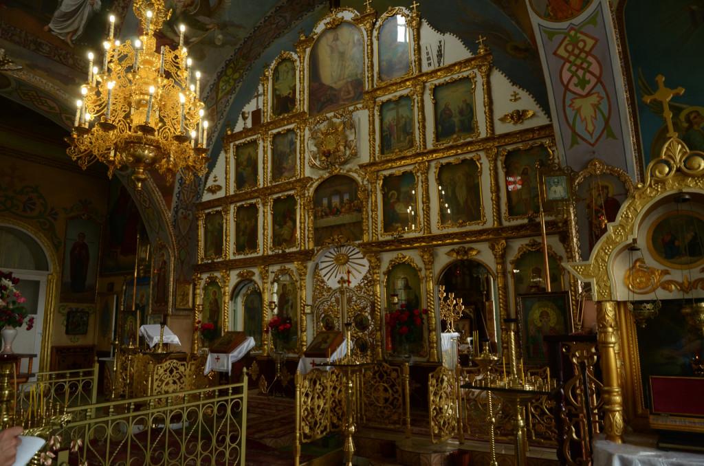 Иконостас, должанский собор
